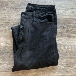 Black Kancan High Rise Jeans